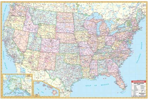 road map in usa united states road map map2
