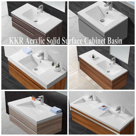 solid surface bathroom sinks solid surface bathroom sinks with single faucet buy