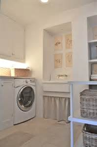 Laundry Room Sinks Skirted Laundry Sink Cottage Laundry Room Giannetti Home