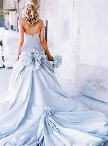 Light blue seersucker wedding dress blue wedding ideas