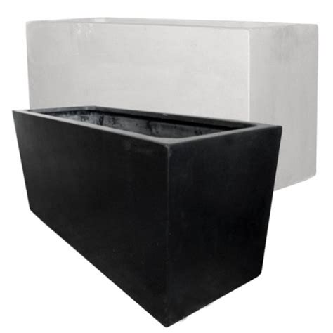 Lightweight Trough Planters by Resin Planters Lightweight Garden Planters Trough Pots Rectangular Planters Resin