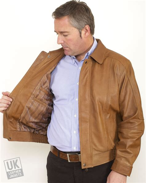 light brown leather jacket mens leather jacket light brown outdoor jacket