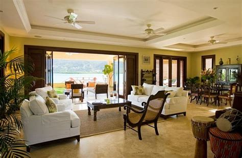 Tropical Living Room Decorating Ideas Decorating With A Caribbean Influence