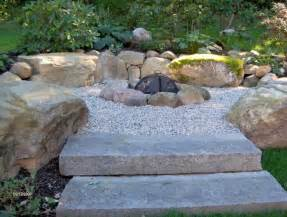 Firepit Rock Pit With Gravel Pool