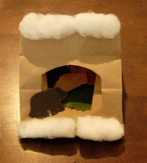 hibernation crafts for in a cave craft bags caves and crafts