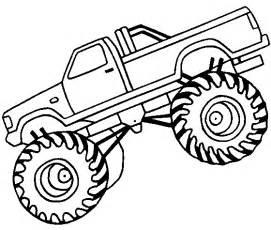 free coloring pages blaze monster truck