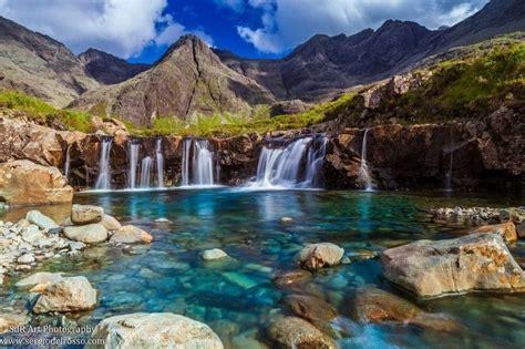 imagenes de paisajes naturales increibles fairy pool isle of skye scotland earth porn pinterest