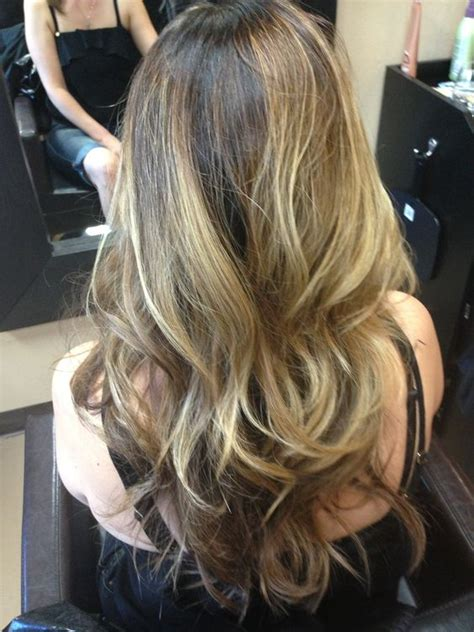 average cost for cut color and balayage highlights balayage highlights cut color pinterest highlights