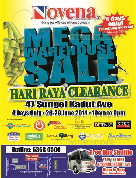 26 27 apr 2014 pureen stock clearance warehouse sale for baby brands map free shuttle bus 187 novena mega warehouse sale