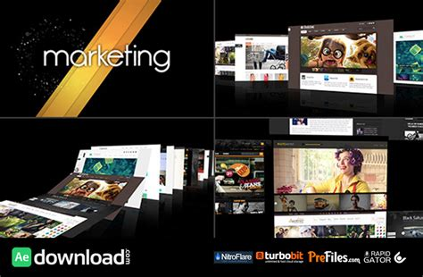 demo reel template adobe after effects free template videohive projects