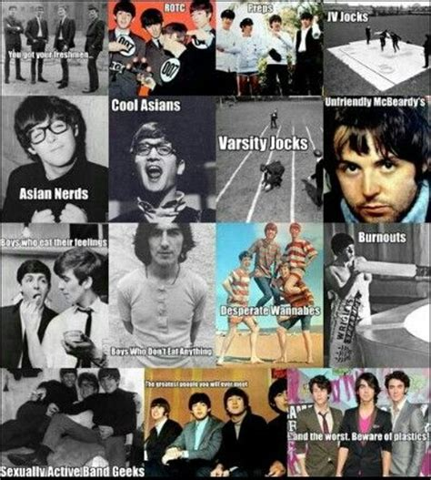 Beatles Memes - mean girls beatles memes the beatles pinterest