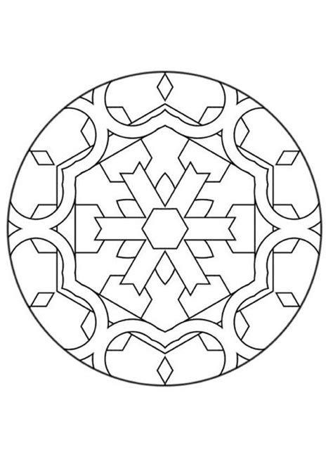 mandala coloring pages beginner mandalas for beginners mandala 126