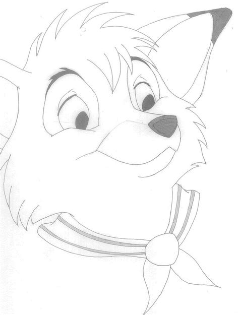 fox and the hound coloring pages to print az coloring pages