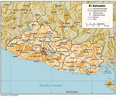 the map of el salvador maps of el salvador salvadoran flags maps economy
