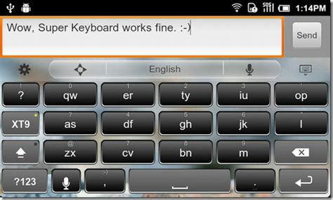 android layout under keyboard super keyboard turns what you type into quot alien text quot android