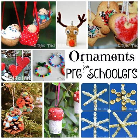 christmas eve crafts for preschool kids ornaments for preschoolers and ted s