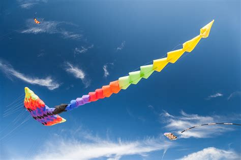 Flying Kite Wallpaper