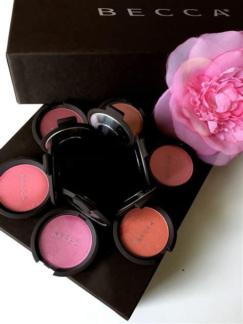 Tami Set Pink becca luminous blush set talking with tami