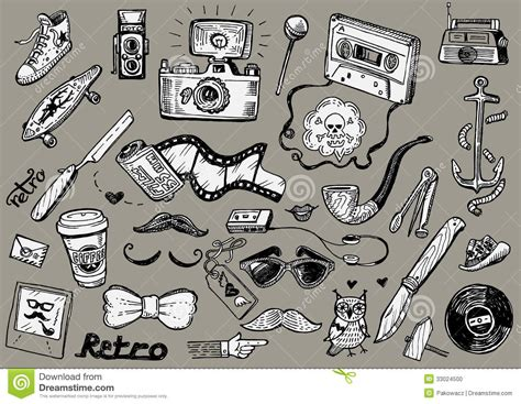 doodle vector doodles stock vector illustration of doodles