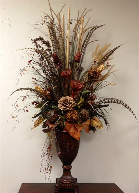 decorative floral arrangements home dried preserved floral arrangement designed by arcadia