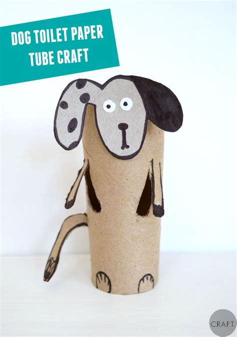 how to make a paper dog house dog toilet paper roll crafts c r a f t