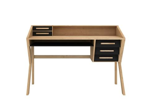 Wood Writing Desk With Drawers by 25 Best Ideas About Wood Writing Desk On