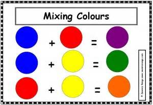 mixing primary colors mixing colours seomra ranga