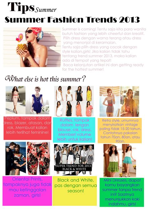 Summer Style Tips by Icon Fashion Magazine