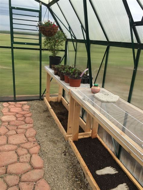 inside greenhouse ideas 25 best ideas about greenhouse shelves on pinterest