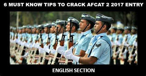 candidate section afcat 6 must know tips to crack afcat 2 2017 entry english section
