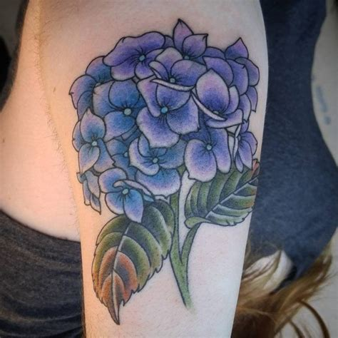 hydrangea tattoo hydrangea tattoos