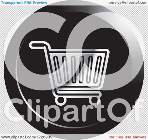roundhouse stock images royalty free images vectors clipart of a round black and silver shopping cart icon