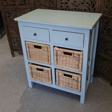 Basket Dresser Drawers by Dresser With Two Drawers And Baskets Nadeau