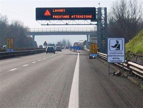 autovelox mobili autostrada emergenza incidenti in autostrada da capodanno nuovi