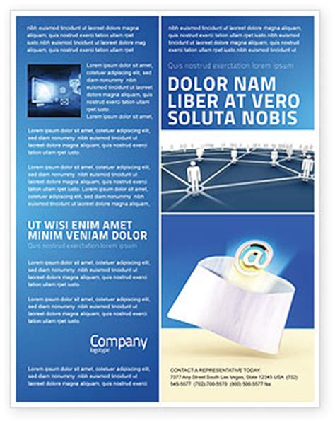 you ve got email flyer template background in microsoft