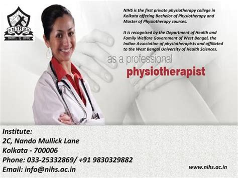 Mba In Healthcare Management In Kolkata by Physiotherapy Center In Kolkata Degree