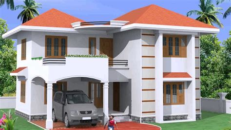 red roof house design youtube