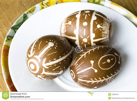 Easter Eggs Handmade - handmade easter eggs royalty free stock image image