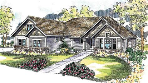 four gables house plan four gables 72116da architectural designs house plans