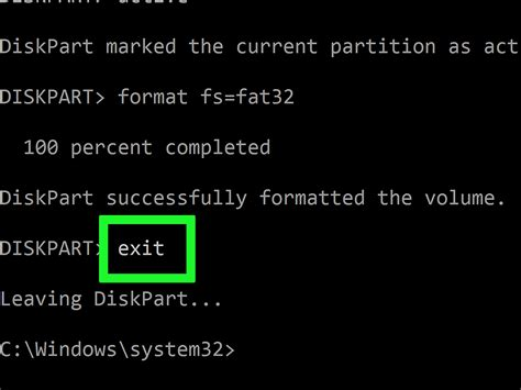 diskpart format q 4 easy ways to format a pendrive if windows is unable