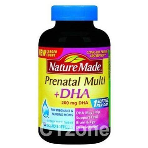 Vitamin Dha prenatal vitamins dha ebay