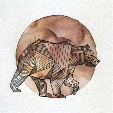 animal tattoo wallpaper geometric animals by allison kunath fun pinterest