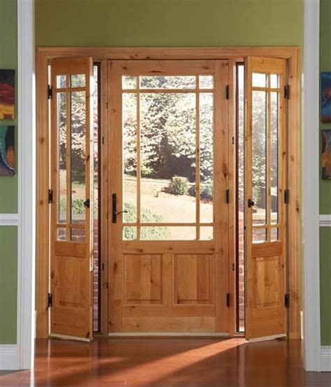 In Place Of The Sliding Glass Doors To The Backyard Place Glass Door