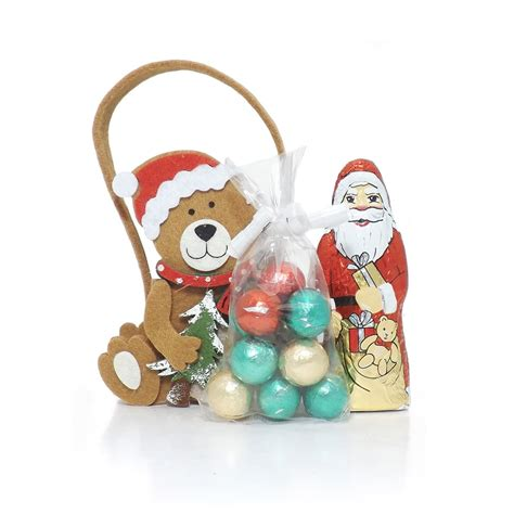 buy felt christmas bear gift bag