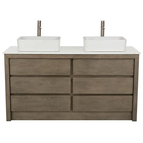 home decorators vanity home decorators collection lawrence 60 in w vanity in