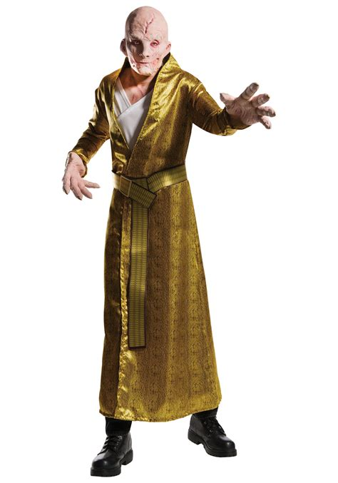 wars supreme costumes wars the last jedi deluxe supreme leader snoke