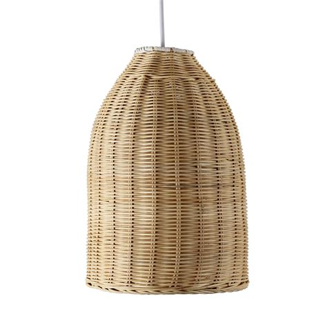 Basket Pendant Light Modern Wicker Basket Ceiling Pendant Light Shade Lounge Lighting Lshade Home Ebay