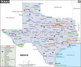Towns Around Tx Map Map Of Tx Usa