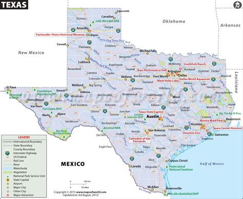 map of texas including cities map of texas cities outravelling maps guide