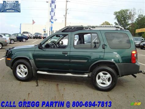 2002 alpine green metallic nissan xterra se v6 4x4 18495571 gtcarlot car color galleries